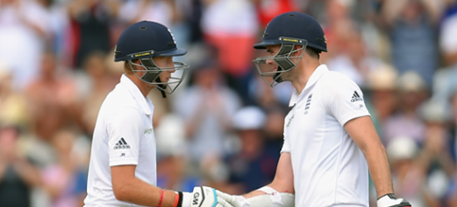 Joe Root and James Anderson